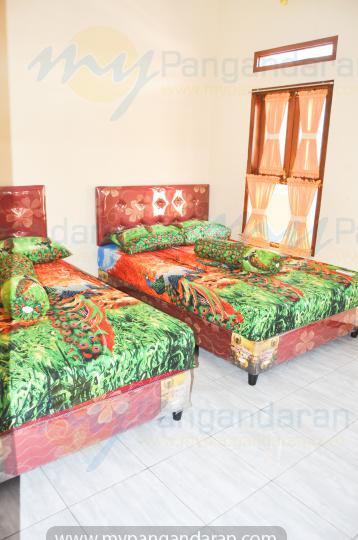 Tampilan kamar tidur bumi abdi homestay